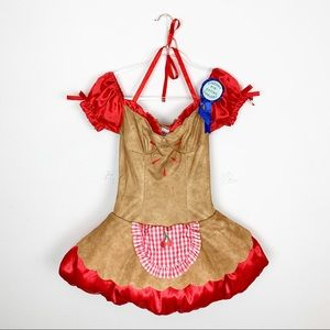 Dreamgirl Cherry Pie Eating Contest Costume Sz S